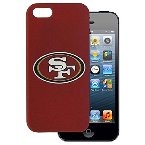 NFL San Francisco 49ers Silicone Case fits iPhone 5