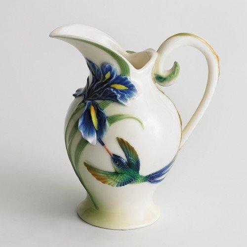Franz Collection Hummingbird Creamer / Pitcher