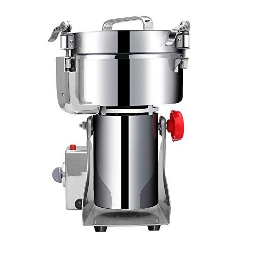APWONE 1000g Grain Grinder Mill,Commercial Pulverizer Grinder High-speed Powder Machine Grinder for Dry Herb Spice…