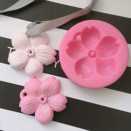 1 piece Sakura Flower Shaped Aromatherapy Wax Silicone