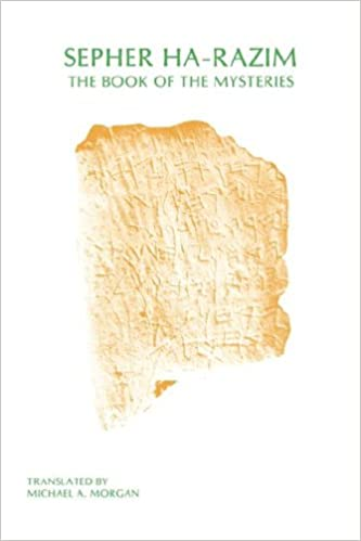 Lire des livres électroniques en ligneSepher Ha-Razim: The Book of Mysteries (Sssa Special Publication) en français PDF