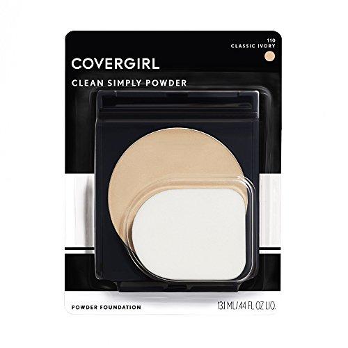 CoverGirl Simply Powder Foundation, Classic Ivory [510] 0.41 oz