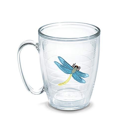 Tervis Dragonfly Blue 15-Ounce Mug, Boxed - 1050862