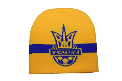 Ukraine With Trident FIFA Soccer World Cup Toque Hat .. New (World Ukraine Cup)