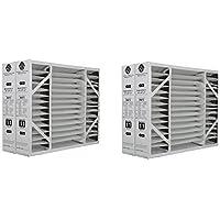 Lennox X6673 20x25x5 Merv 11 Filter Media 2 Pack (2 X Pack of 2)