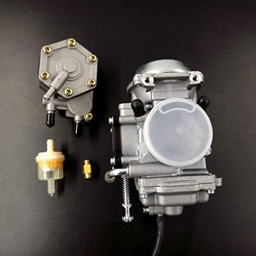 Topker Carburetor Replacement for Polaris Sportsman 500 Fuel Pump 4WD ATV Quad 1996-1998 Motorcycle Accessories by Topker (Image #1)