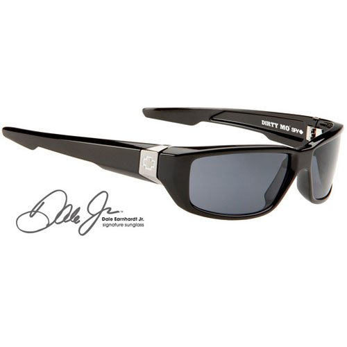 Spy Dirty Mo Sunglasses - Spy Optic Steady Series Sports Eyewear - Color: Black/Grey, Size: One Size Fits - Website Sunglasses Spy
