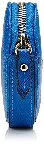 Guess - Bolso de mano Mujer, Azul (BLU), 10 cm