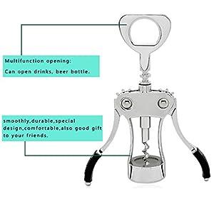 Wing Corkscrew, Foho Best Wine Bottle Opener Luxury Waiter Corkscrew with Stopper Set for Wine Enthusiast Waiters