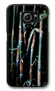 Bamboo forest1 Polycarbonate Hard Case Cover for Samsung S6/Samsung Galaxy S6 Black