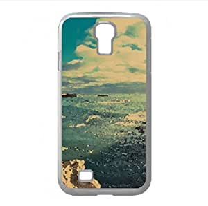 Coast Obelisk Watercolor style Cover Samsung Galaxy S4 I9500 Case (Beach Watercolor style Cover Samsung Galaxy S4 I9500 Case)