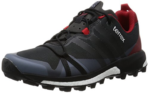 adidas Herren Trekkingschuhe Terrex Agravic Dark Grey/Core Black/Power Red 44
