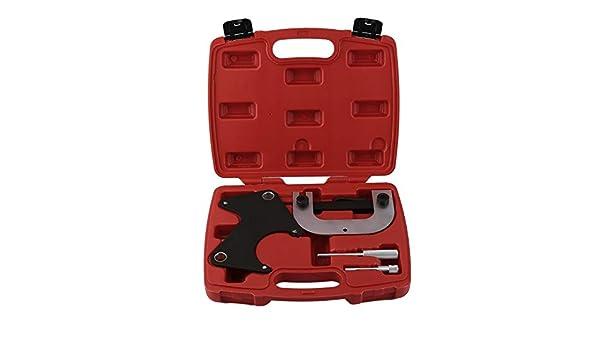 Wenwenzui-ES Kit de sincronización de alineación del Motor de la Herramienta de Bloqueo de la polea de Correa en V para Renault: Amazon.es: Hogar