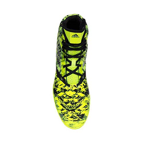 Image of adidas Impact Solar Yellow/Silver/Black Wrestling Shoes 11.5