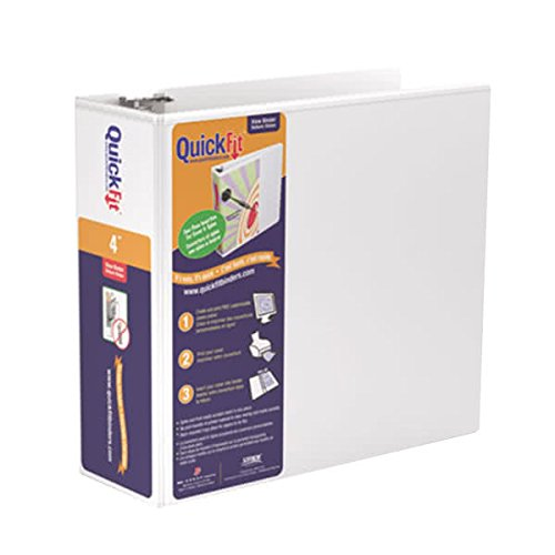 - Stride, Inc. Quick Fit D-Ring View Binders (Stride)