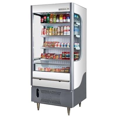 Beverage-Air VM7-1-W Open Display Merchandiser, White   7 Cu. Ft.