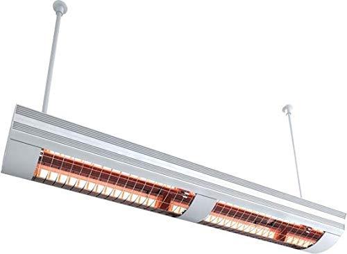 Etherma, 9100306, Riscaldonnato a raggi infrarossi Solamagic, 4 kW, montaggio a soffitto, bianco