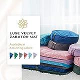 Mindful and Modern Velvet Zabuton