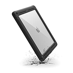"Catalyst Premium Quality Waterproof Shockproof Case for Apple 12.9"" iPad Pro (2015) - Stealth Black with High Touch Sensitivity ID and Multi Position Stand"