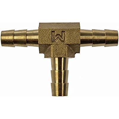 Dorman HELP! 55106 3-Way Tee Brass Fuel Hose Fitting: Automotive