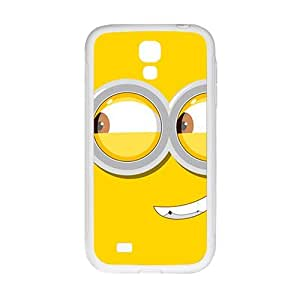 Happy Cute horarios de minions Cell Phone Case for Samsung Galaxy S4