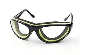 RSVP Tearless Kitchen Onion Goggles, Black