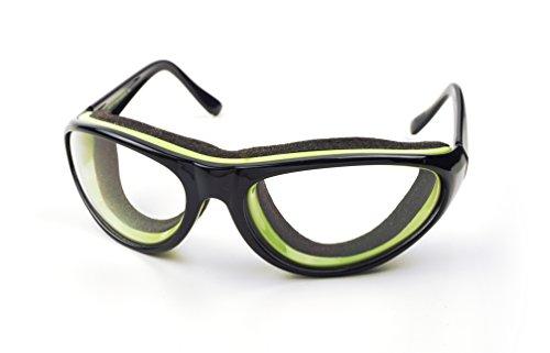 RSVP International Endurance Onion Goggles, Black (TEAR-BK)