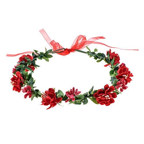 Love Sweety Flower Headband Floral Crown Garland Halo