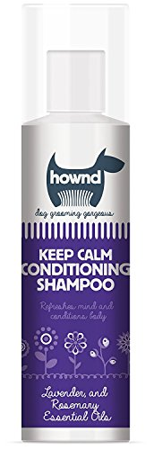 HOWND Keep Calm Conditioning Dog Shampoo 8.5 oz All-Natural Lavender Rosemary Essential Oils