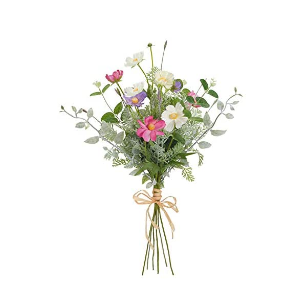Diva At Home Set of 6 Faux Cosmos Bouquet