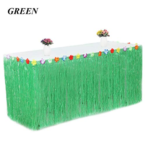 Best Quality - Party DIY Decorations - 27575cm Artificial Plastic Grass Hawaiian Table Skirt Tropical Luau Party Decoration Summer Beach Birthday Party Supplies - by SeedWorld - 1 PCs for $<!--$33.99-->