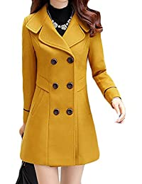 Amazon.com: Yellows - Wool & Pea Coats / Coats, Jackets & Vests ...