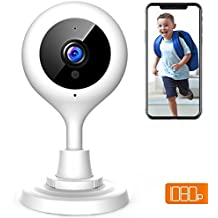 APEMAN WiFi Camera 1080P Baby Monitor IP Wireless Surveillance Indoor Security Camera CCTV Cam with 2-Way Audio/Night Vision/Motion Detection/Cloud Service