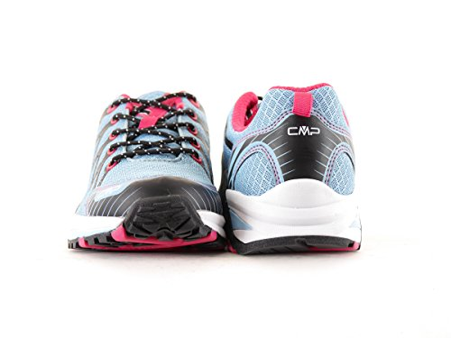 CMP Trail Zapatos unidad Antares Low Zapatillas Azul Malla Transpirable talla 373q53956
