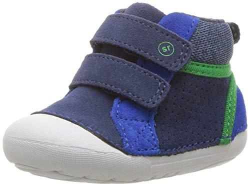 Stride Rite Boys' SM Milo Sneaker, Navy, 5 M US Toddler