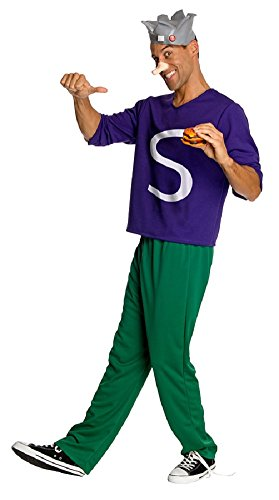 Rubies Mens Tv & Movie Characters Archie Comics Jughead Fancy Costume, Standard (up to 44) (Archie Comic Character Costumes)