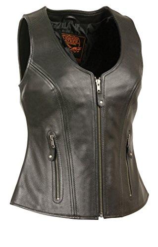 Zipper Womens Vest - 3