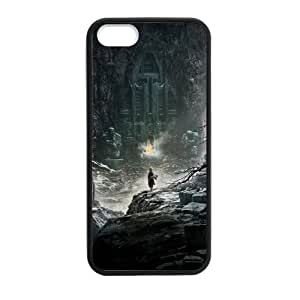 Super Custom The Hobbit Design PC and TPU Phone Case Cover Laser Technology for iPhone 5,5S