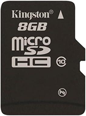 Kingston SDCIT/8GB - Tarjeta de Memoria microSDHC de 8 GB (UHS-I, Clase 10, Temperatura Industrial)