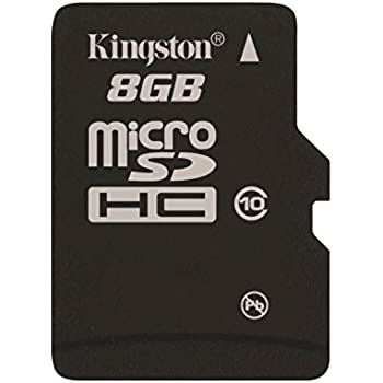 Kingston Digital 8GB Micro SDHC UHS-I Class 10 Industrial Temp Card (SDCIT/8GBSP)