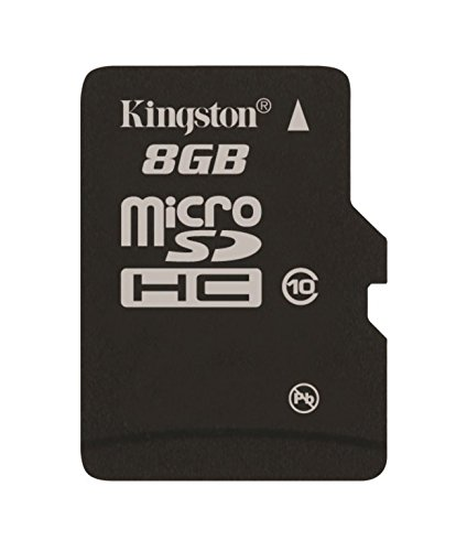 Kingston Digital 8GB Micro SDHC UHS-I Class 10...