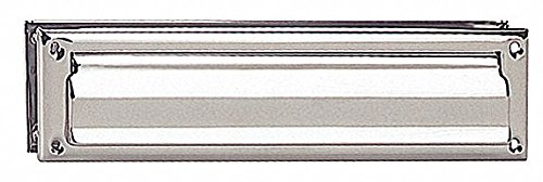 Standard Mail Slot,Magazine Size,Chrome