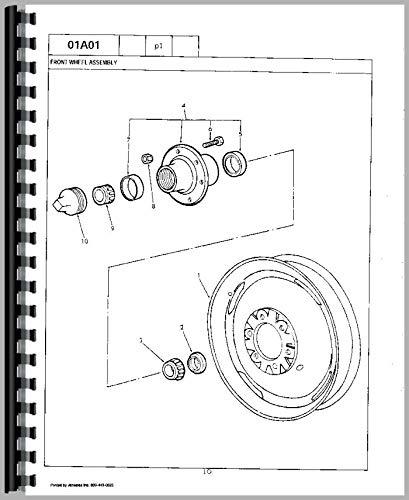 Amazon Com Ford 700 Tractor Parts Manual Home Improvement