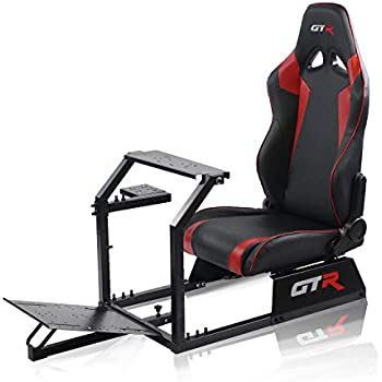 Amazon com: Conquer Racing Simulator Cockpit Driving Gaming