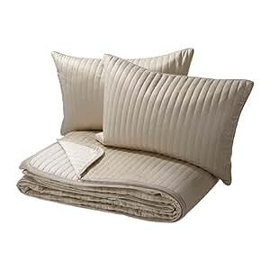 Amazon.com: IKEA KARIT – Colcha y 2 fundas de cojín, color ...