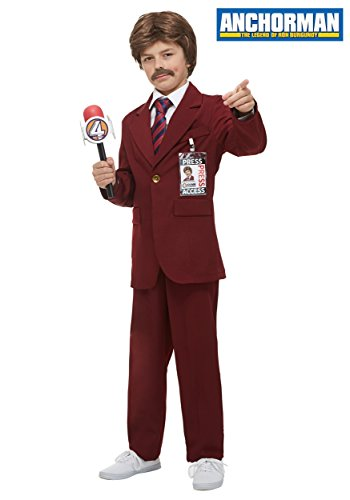 Fun Costumes Anchorman Ron Burgundy Costume Small - Ron Burgundy Costume For Kids