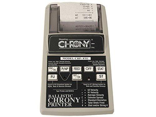Chrony Ballistic Printer for ()