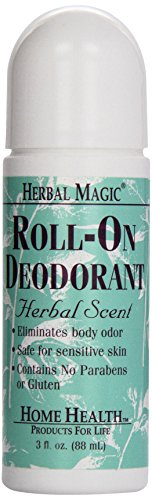 Home Health Herbal Magic Roll-On Deodorant, Herbal Scent , 3-Fluid (Herbal Magic Roll Deodorant)