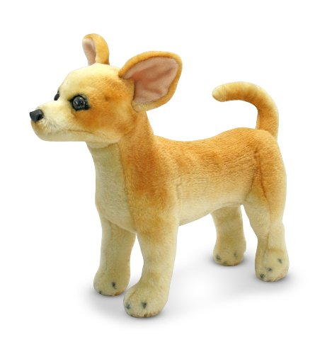 Melissa & Doug Chihuahua Dog - Lifelike Stuffed Animal ()