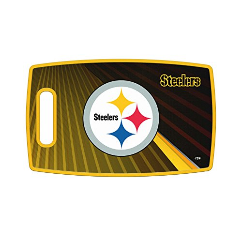 - Sports Vault NFL Pittsburgh Steelers Large Cutting Board, 14.5